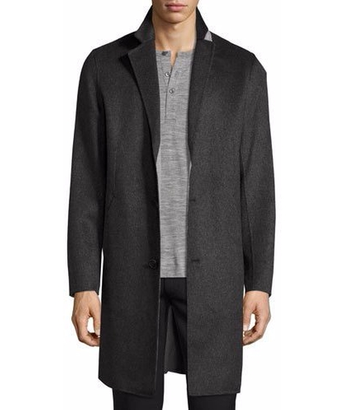 Delancey Double-Face Cashmere Coat by Theory in Designated Survivor - Season 1 Episode 5