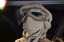 Custom Made Scavenger Mask (Rey) by Michael Kaplan (Costume Designer) in Star Wars: The Force Awakens
