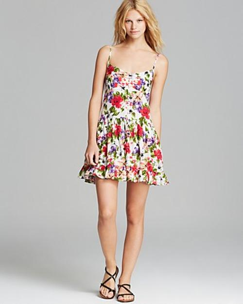 Tropical Floral Printed Dress by Raga in Pain & Gain