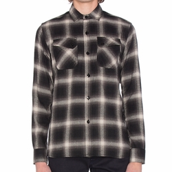 Crosscut Flannel Shirt by 3Sixteen in New Girl