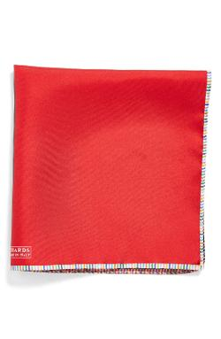 Woven Silk Pocket Square by J.Z. Richards in Into the Storm
