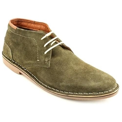 Green Suede Chukka Boots by Kenneth Cole in Pitch Perfect 2
