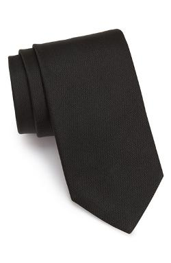 Woven Silk Tie by Eton in Contraband
