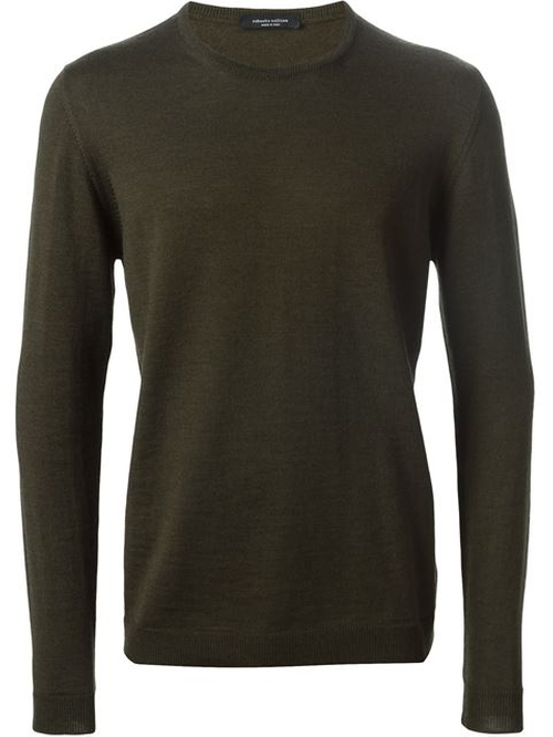 Crew Neck Sweater by Roberto Collina in The Transporter