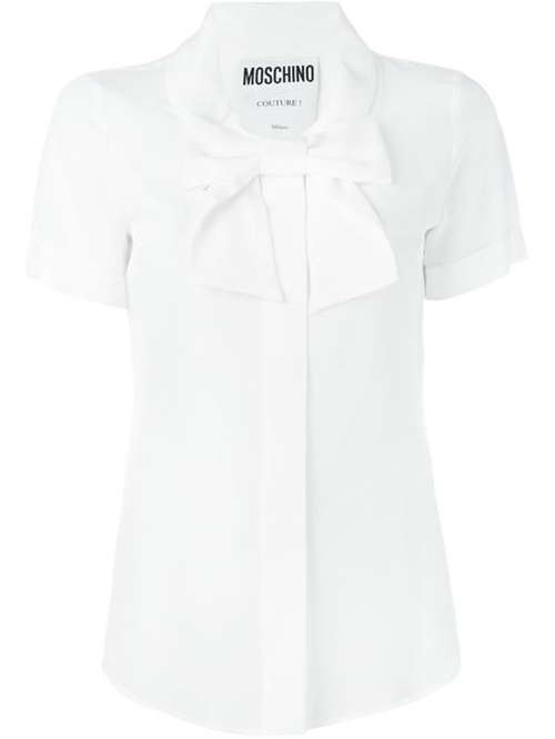 Bow Detail Blouse by Moschino in Elementary