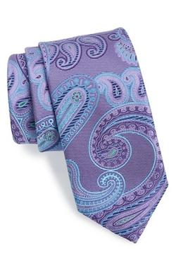 'Beasley Pine' Paisley Silk Tie by John W. Nordstrom in Ballers