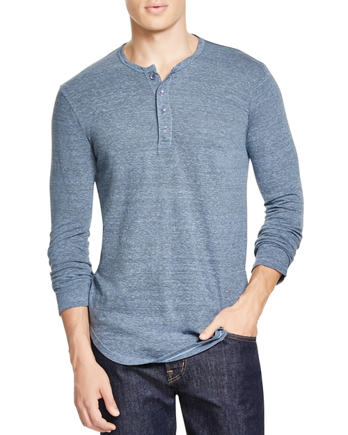 Scalloped Henley Shirt by Goodlife in Teen Wolf - Season 5 Looks