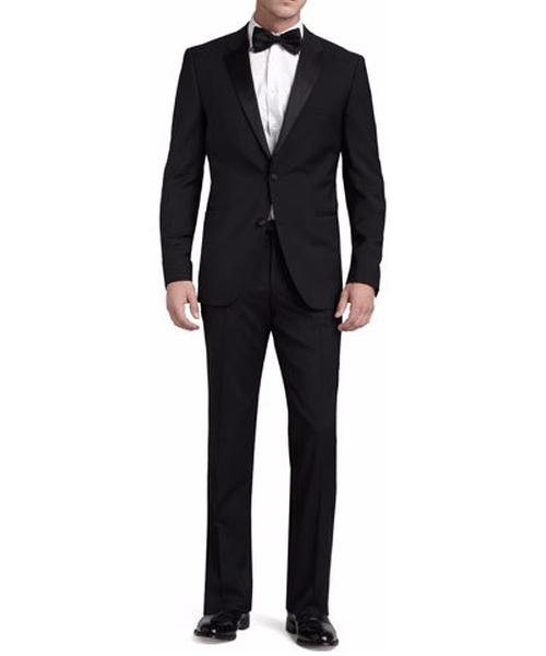 Stars/Glamour Tuxedo Suit by Boss Hugo Boss in MacGyver - Season 1 Episode 1