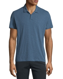 Willem Nebulous Short-Sleeve Polo Shirt by Theory in Ballers