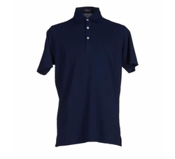 Short Sleeve Polo Shirt by Rossopuro in A Bigger Splash