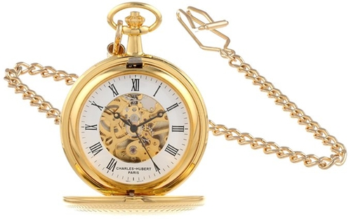 Mechanical Pocket Watch by Charles-Hubert in Crimson Peak