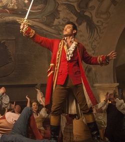 Custom Made Gaston's Suit Costume by Jacqueline Durran (Costume Designer) in Beauty and the Beast