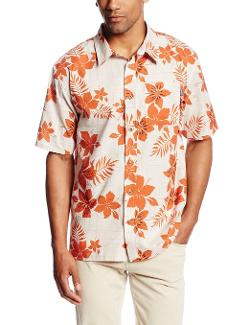 Men's Del Mar Short-Sleeve Woven Shirt by Jack O'Neill in A Good Day to Die Hard