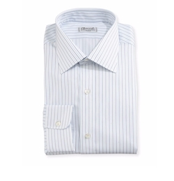 Multi-Stripe Dress Shirt by Charvet in House of Cards