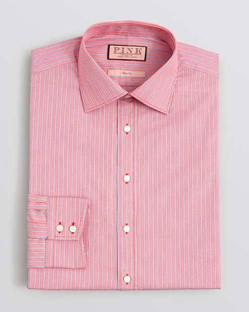 Varten Stripe Dress Shirt by Thomas Pink in Her
