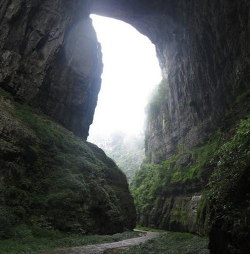 Wulong Karst National Park Chongqing, China in Transformers: Age of Extinction