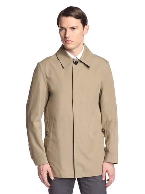 Short Rain Topper Jacket by Crombie in The Blacklist