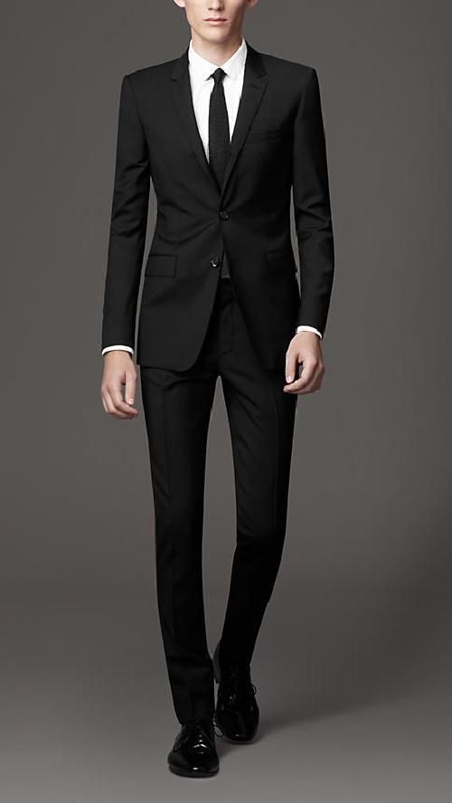 Slim Fit Virgin Wool Suit by Burberry in The Great Gatsby
