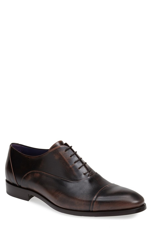 'Odeon' Cap Toe Oxford Shoes by Noah Waxman in Suits