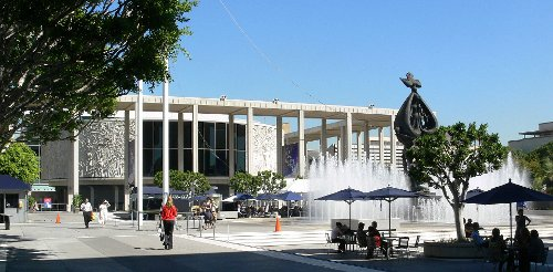 Mark Taper Forum Los Angeles, California in (500) Days of Summer