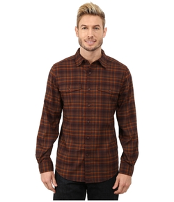 Mason Plaid Long Sleeve Shirt by Royal Robbins in Love the Coopers