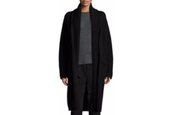 Yak-Wool Oversized Open-Front Cardigan by Vince in Miss Sloane