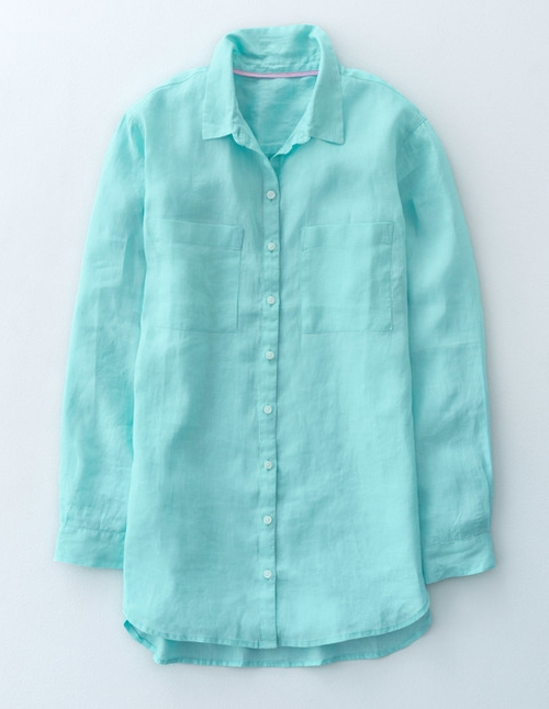 The Longer Length Linen Shirt by Boden in Bad Moms