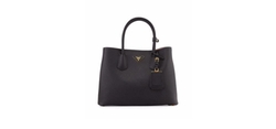 Saffiano East-West Medium Tote Bag by Prada in Miss Sloane