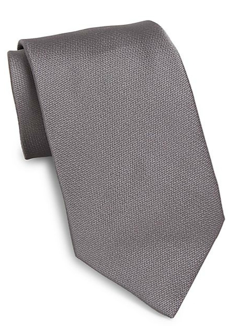 Solid Silk Tie by Valentino in Supergirl - Season 1 Episode 4