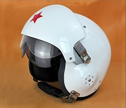 Jet Pilot Flight Dot Ece Helmet by Saiermo in Tomorrow Never Dies