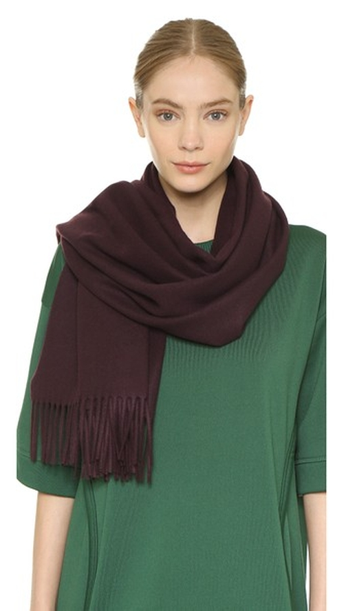 Canada Scarf by Acne Studios in The Bourne Ultimatum