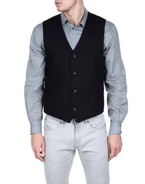 Single Breasted Vest by Umit Benan in Side Effects