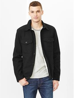 Sherpa Shirt Jacket by Gap in Warm Bodies