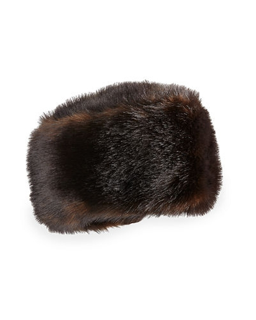 Faux-Fur Stretch Hat by Fabulous Furs in The Hateful Eight