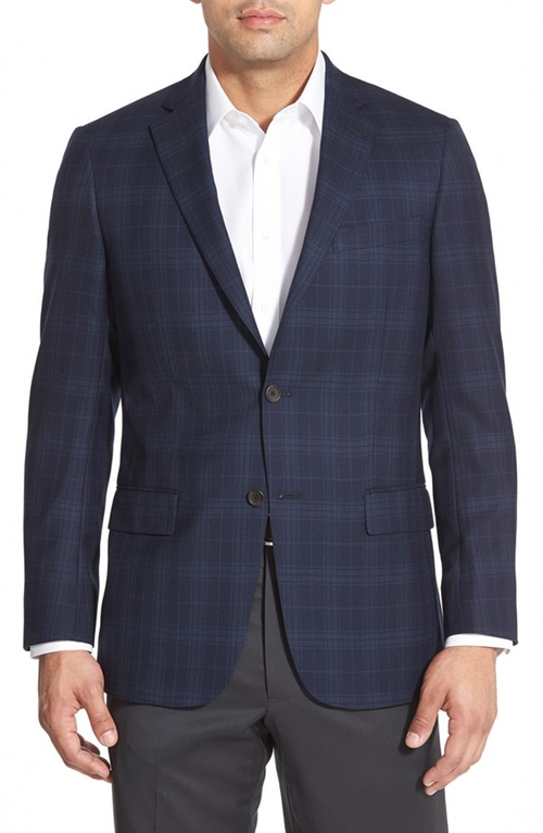 New York Plaid Wool Sport Coat by Hart Schaffner Marx in The Martian