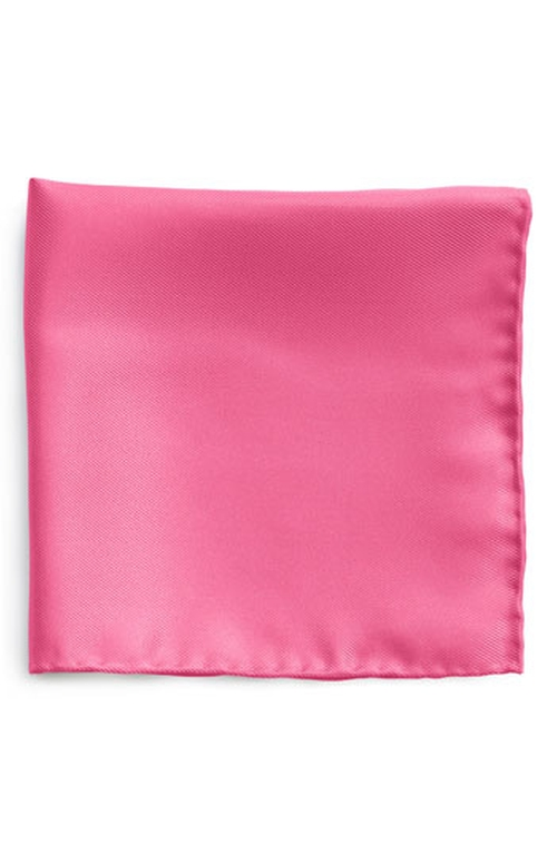 Silk Twill Pocket Square by Nordstrom in Grease