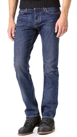 Straight Leg Jeans by Jean Machine in The Walk