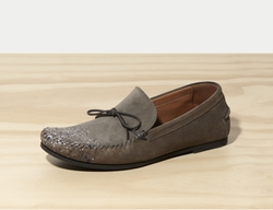 Suede Artist Moccasin by Tomas Maier in The Bachelor