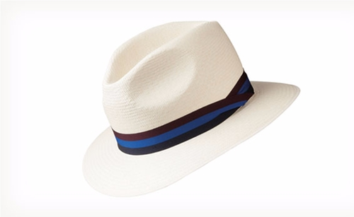 SM4 Down Brim Cuenca Panama Hat by Olney in Me Before You