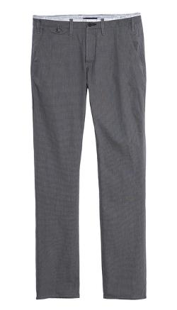 Slim Fit Micro Check Trousers by Paul Smith Jeans in The Hundred-Foot Journey