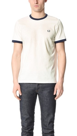 Ringer Tee Shirt by Fred Perry in Deadpool