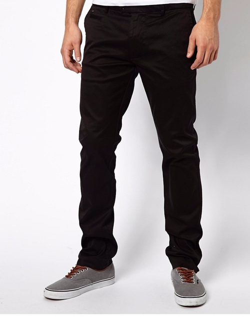 Chi Tight E Slim Fit Washed Chinos by Diesel in The Night Manager - Season 1 Looks