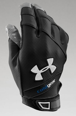 ColdGear Storm Football Gloves by Under Armour in Deadpool