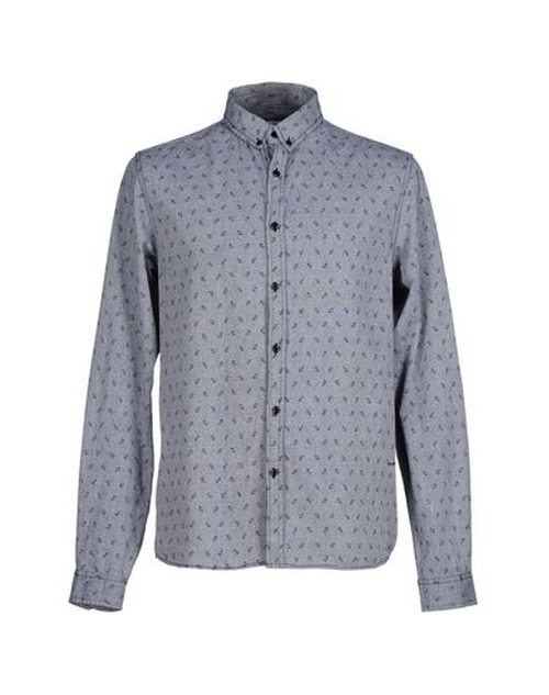 Two Tone Pattern Shirt by !Solid in Master of None - Season 1 Episode 1