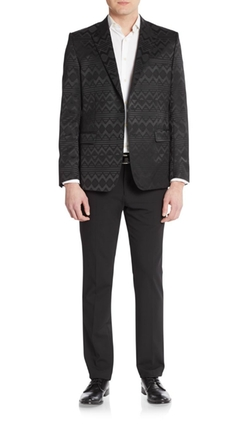 Regular-Fit Sante Fe Sportcoat by Versace Collection in Empire