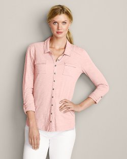 Button-Down Shirt by Essential Slub in The Gunman