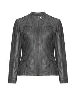 Leather Jacket by HM Leathercraft in Rosewood