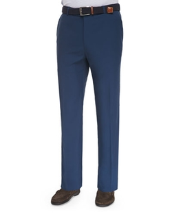 High-Drape Performance Pants by Peter Millar in The Walk