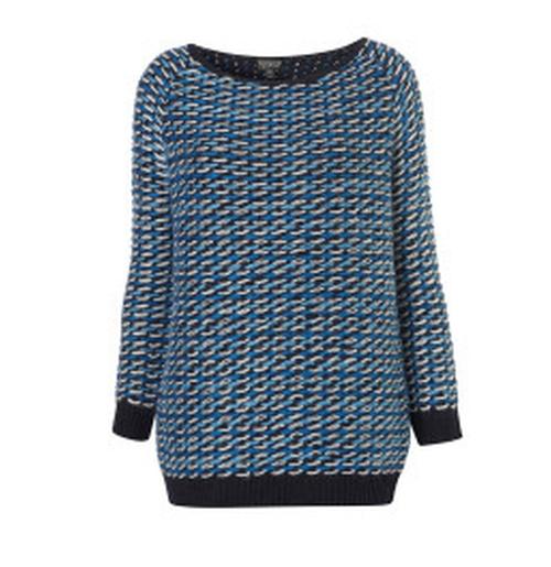 Loop Stitch Sweater by Topshop in Love, Rosie