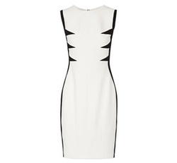 Paneled Stretch-Crepe Dress by Narciso Rodriguez in The Good Wife